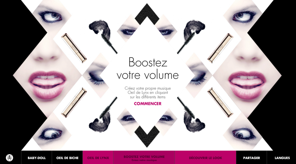guerlain-plateforme-digitale communication digitale guerlain dans Maquillage