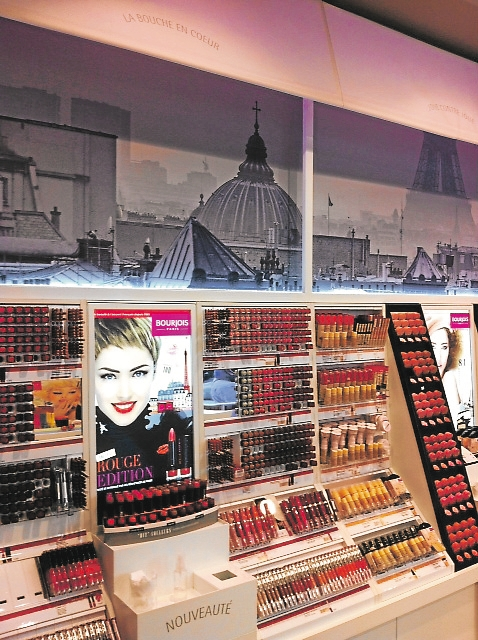 nouveau-magasin-bourjois-paris boutique bourjois passage du havre dans Maquillage