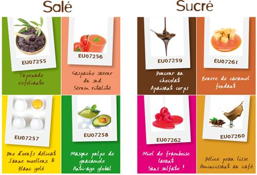 Plutôt beurre de caramel fondant ou tapenade exfoliante ? SEPPIC présente ses formules gourmandes « Cosmetofood » ! dans Corps cosmetofood-recettes-seppic